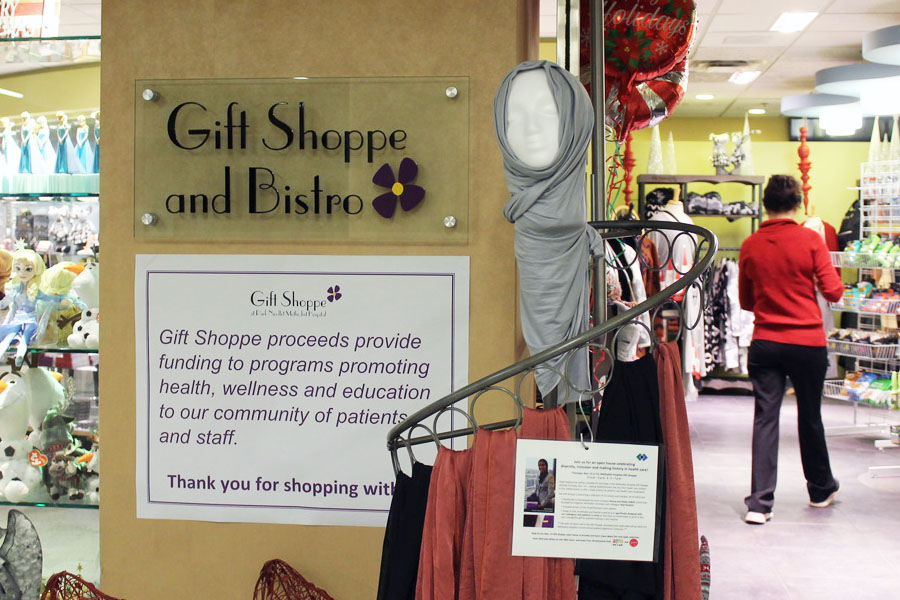 Methodist Hospital Gift Shoppe is selling hijabs in St. Louis Park. Methodist hospital is a part of the first health care system to sell hijabs in the country.