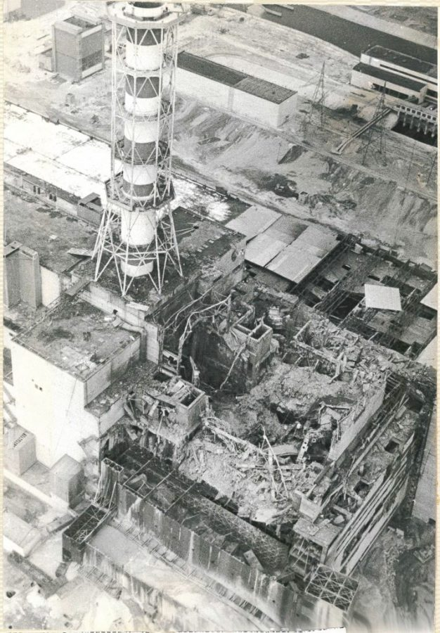 Reactor+No.+4+at+Chernobyl%2C+which+blew+up+due+to+inadequately+trained+personnel%2C+creating+devastating+nuclear+fallout.+Cleanup+efforts+where+under+equipped+leading+to+high+fatalities.+