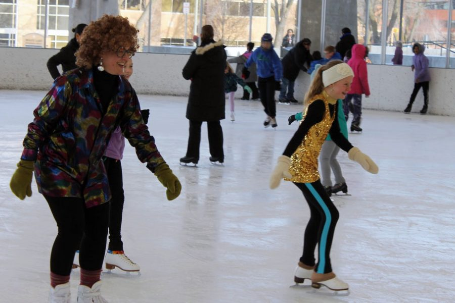 The ROC hosted the Discoball ice skating Dec. 21. The next major event at the ROC is the New Year's Eve ice skating 3:30-6 p.m. Dec. 31.