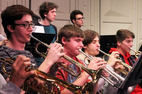 Band students will play a variety of holiday music for senior citizens. Afterward, students will engage in conversation.