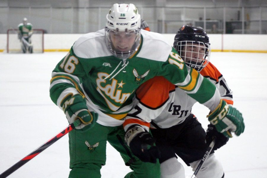 Boys' hockey falls to Edina