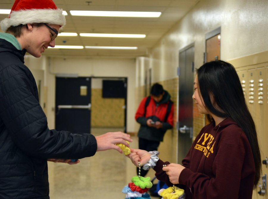 Mama's Scrunchies is having a buy one get one free sale until Dec. 20. Sophomore Luna Labelle runs the business with her mom, they make and sell scrunchies.