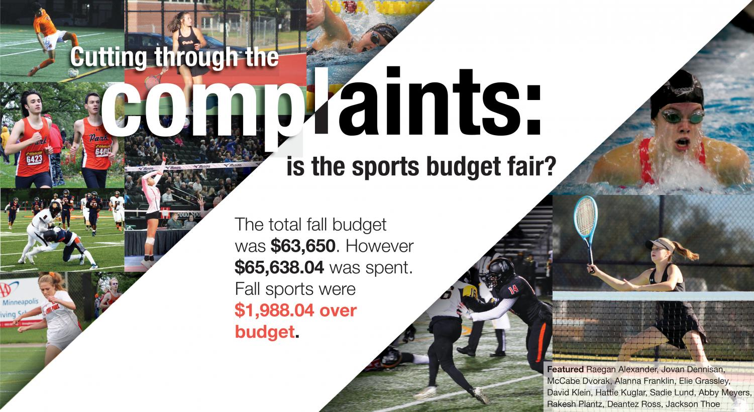 Cutting through the complaints: is the sports budget fair?
