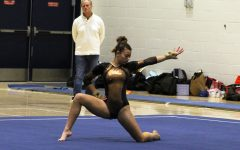Gymnastics pulls off big win at Breck