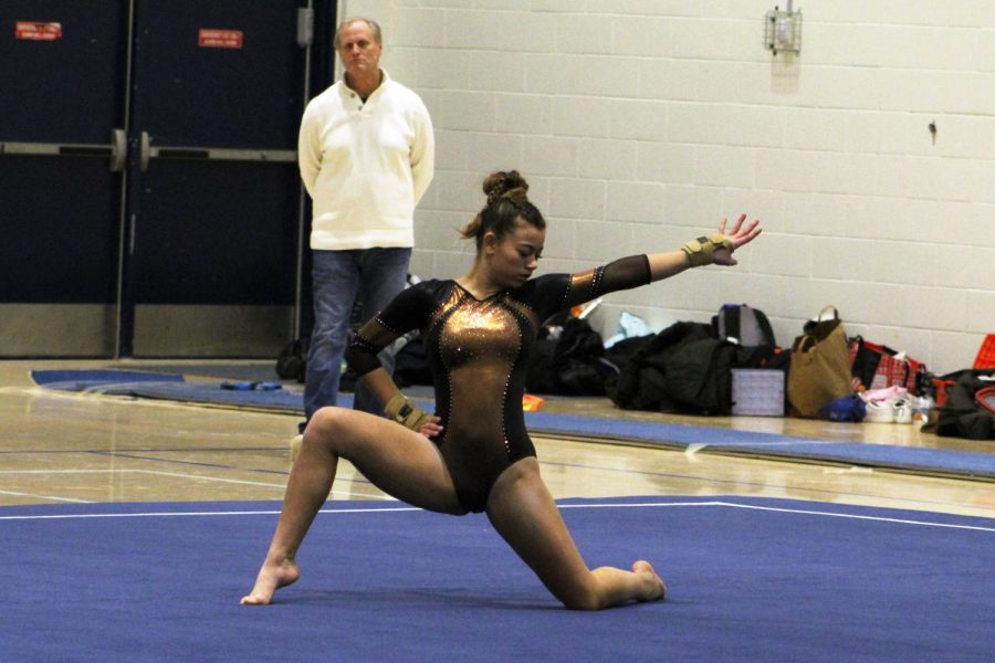 Gymnastics pulls off big win at Breck