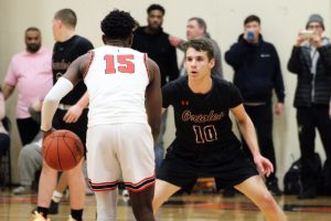 Boys' basketball loses to top ranked team