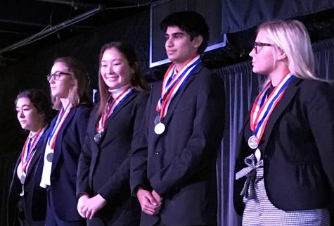 Students successful in DECA event