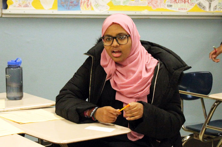 Sophomore+Fatima+Mohamed+recently+traveled+to+Somalia.+Her+trip+helped+her+explore+her+culture+and+heritage.