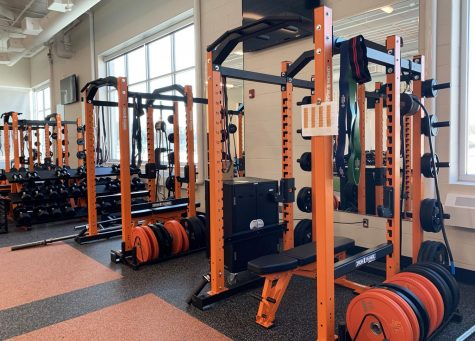 Weight room renovations finished