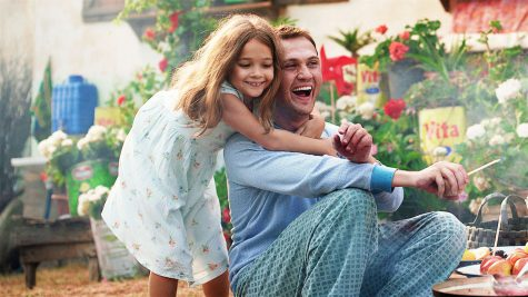Fair use from Netflix. Daughter Ova (Nisa Sofiya Aksongur) hugs her dad Memo (Aras Bulut iynemli). Memo, with an intellectual disability, ends up being jailed for a crime he didn't commit and must prove his innocence in order to be with his daughter.