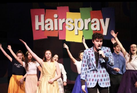"Junior Leo Dworsky and other members of the ""Hairspray"" cast perform their final dress rehearsal Feb. 19. Dworsky was announced as a Minnesota Varsity Showcase Artist for Classical MPR of 2020."