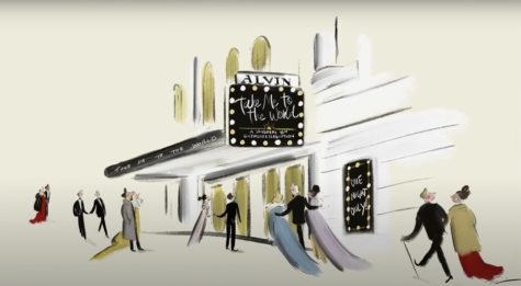 "Fair use from Broadway.com. Cover art for ""Take Me to the World: A Sondheim 90th Birthday Celebration."" The virtual event was live streamed to honor the famous Broadway composer, Stephen Sondheim, and to raise money for Actors Striving to End Poverty."