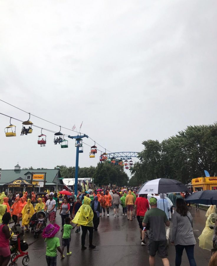 The Minnesota State Fair was canceled this year due to concerns of spreading COVID-19. As a replacement, the Fair hosted a drive-thru featuring some of the top food vendors from the Great Minnesota Get Together.