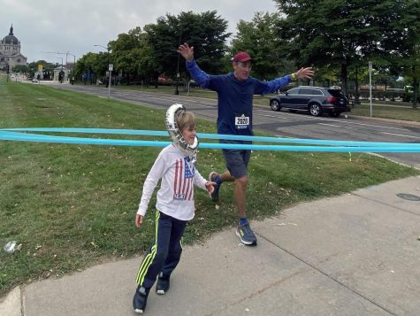 Teacher takes part in virtual Boston Marathon