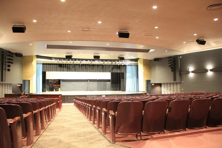 Renovations+have+been+completed+for+the+Carl+A.+Holmstrom+auditorium%2C+with+the+addition+of+new+lighting+and+backstage+equipment+November+2020.+Recently%2C+renovations+were+also+completed+for+the+main+gym.