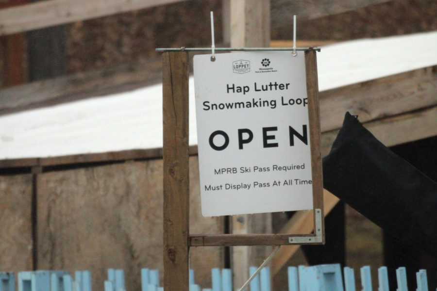 Theodore Wirth Park is open with a COVID-safe winter recreation area open to the public but requiring a pass. Passes are available here:  https://www.loppet.org/tt/trailpasses/