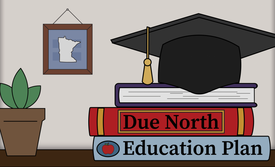 Gov. Walz announces Due North Education plan