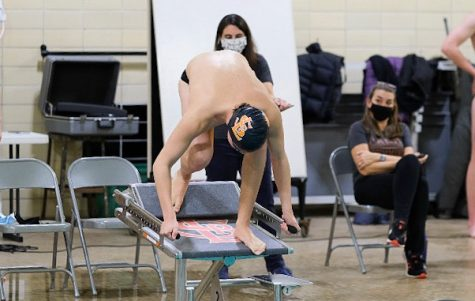 Boys' swimming ends season at State
