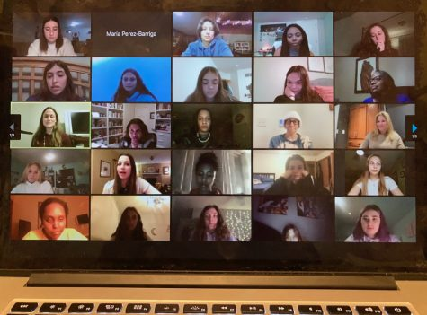 Multiple Girls United chapters meet on Zoom together March 7 to hold a panel with guests who came in to talk with students about their jobs. There were a total of seven panelists, ranging from a radio host to a surgeon.