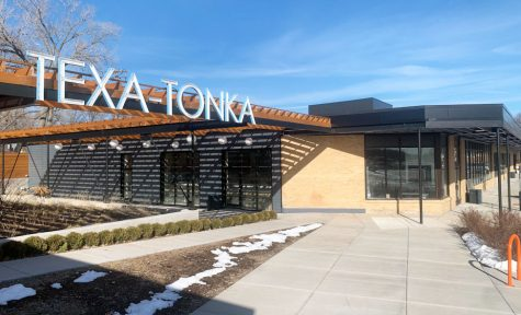 Shops and restaurants in the Texa-Tonka neighborhood March 18. Brito