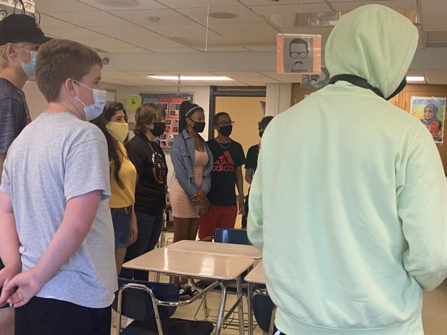 Students participate in last day of school activities June 10. Two groups from park go to the Project Citizen National Showcase.