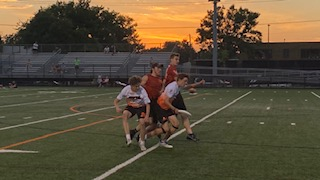 Boys' ultimate team wins conference finals