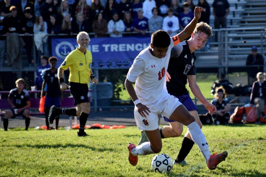 Boys' soccer season ends in loss