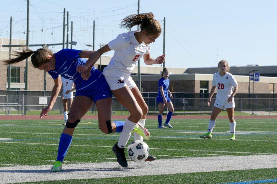 Hopkins ends girls' soccer season